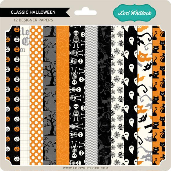 Pattern Fill Set Classic Halloween