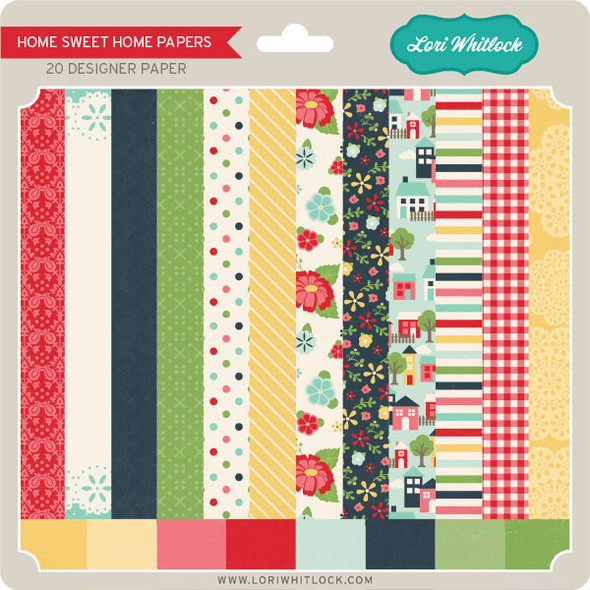 Pattern Fill Set Home Sweet Home