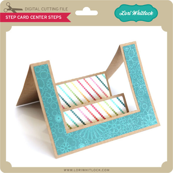 Step Card Center Steps