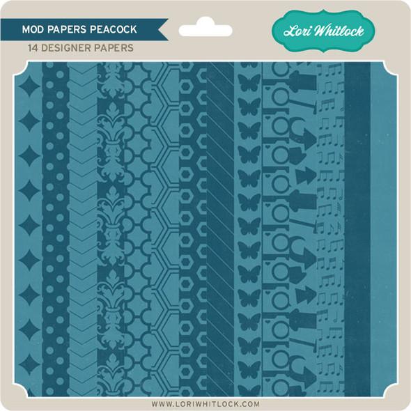 Pattern Fill Set Mod Peacock