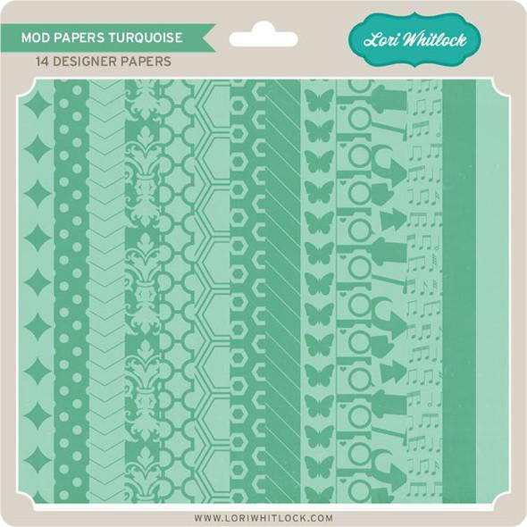 Pattern Fill Set Mod Turquoise