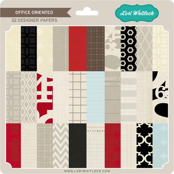 Pattern Fill Set Office Oriented