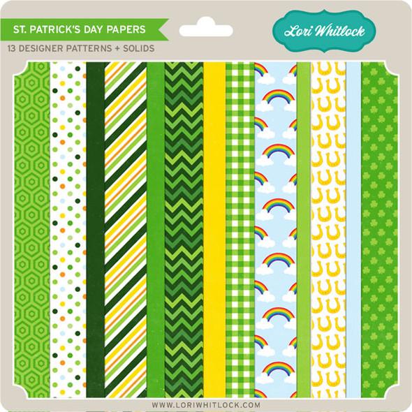 Pattern Fill Set St Patrick's Day