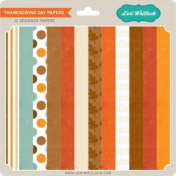 Pattern Fill Set Thanksgiving Day