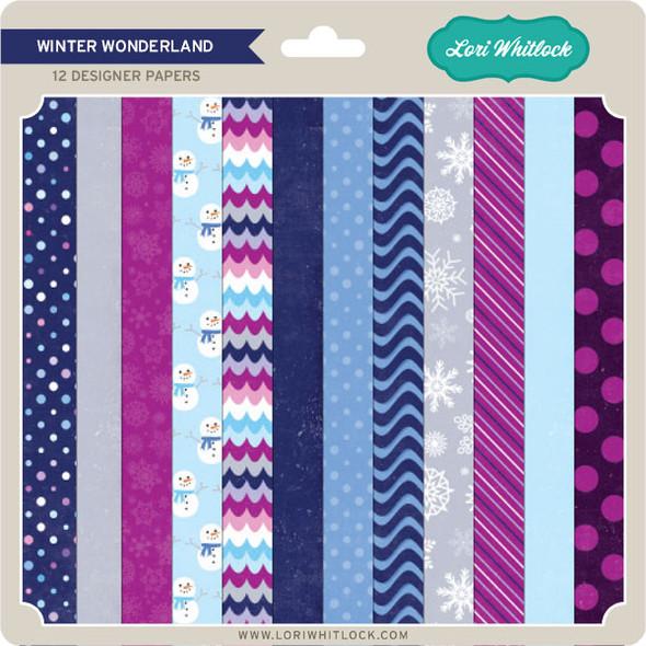 Pattern Fill Set Winter Wonderland
