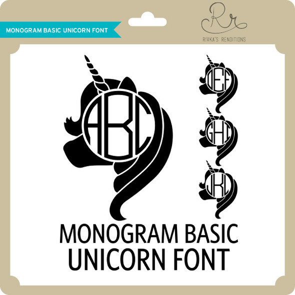 MonogramBasic Unicorn Font