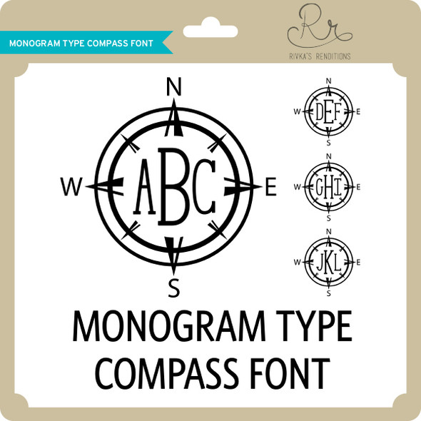 MonogramType Compass Font