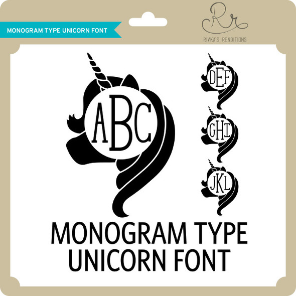 MonogramType Unicorn Font
