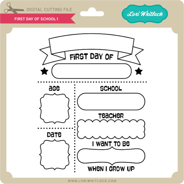 First Day of School 01