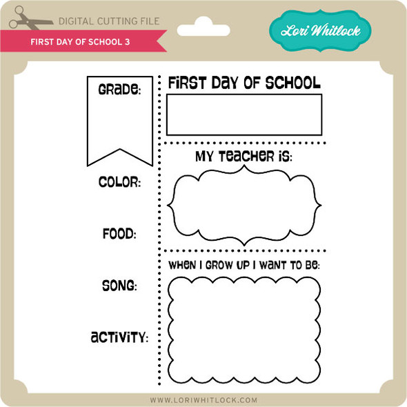 First Day of School 03