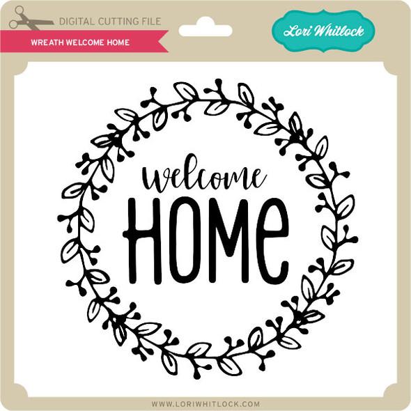 Wreath Welcome Home