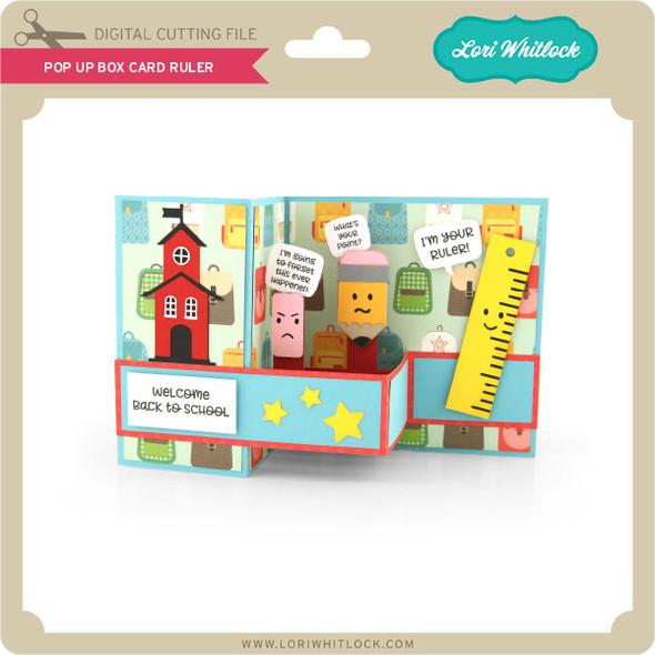 Pop Up Box Card Ruler