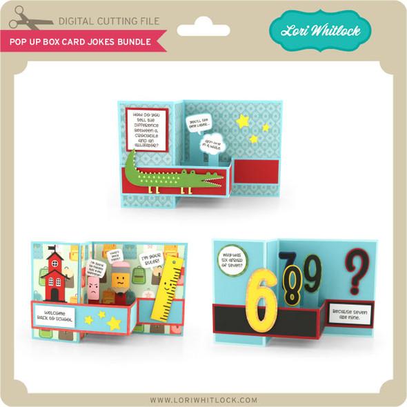 Pop Up Box Card Jokes Bundle