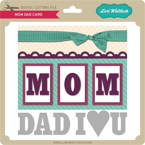 Mom Dad Card