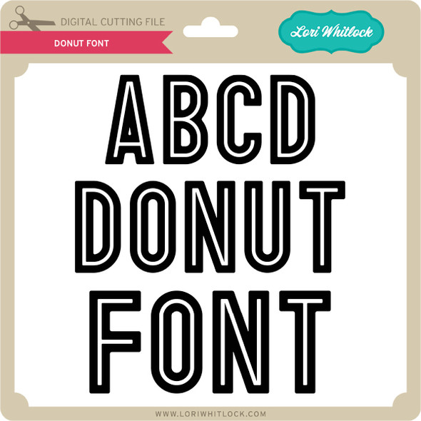 Donut Font