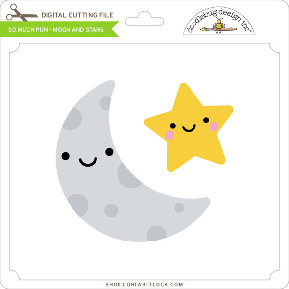 So Much Pun -  Moon and Stars