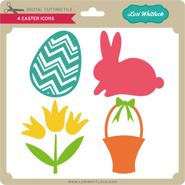 4 Easter Icons