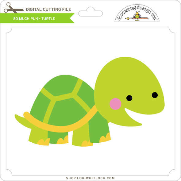 So Much Pun -  Turtle