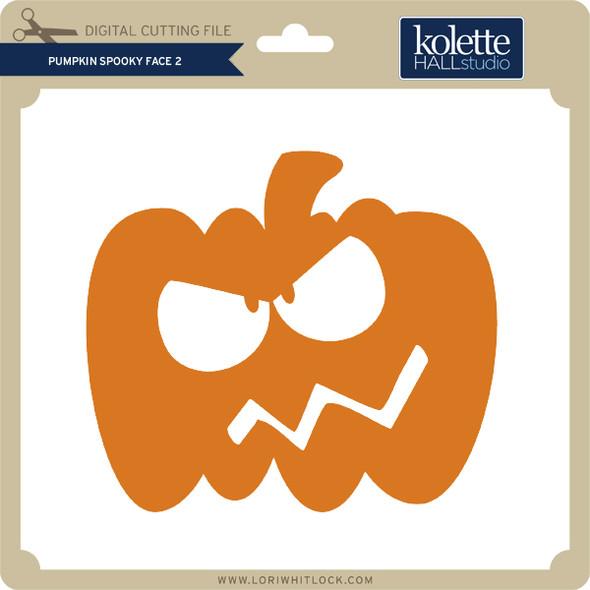 Pumpkin Spooky Face 2