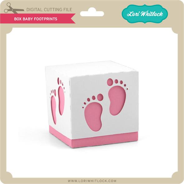 Box Baby Footprints