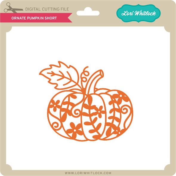 Ornate Pumpkin Short