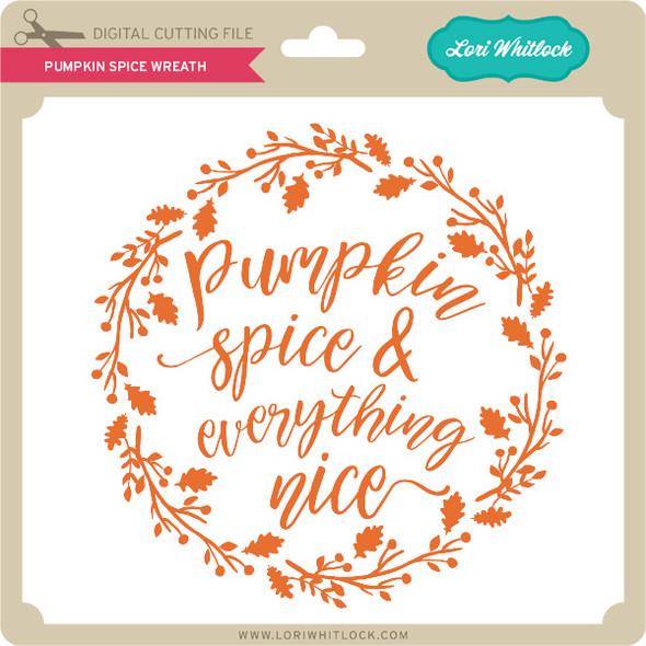 Pumpkin Spice Wreath