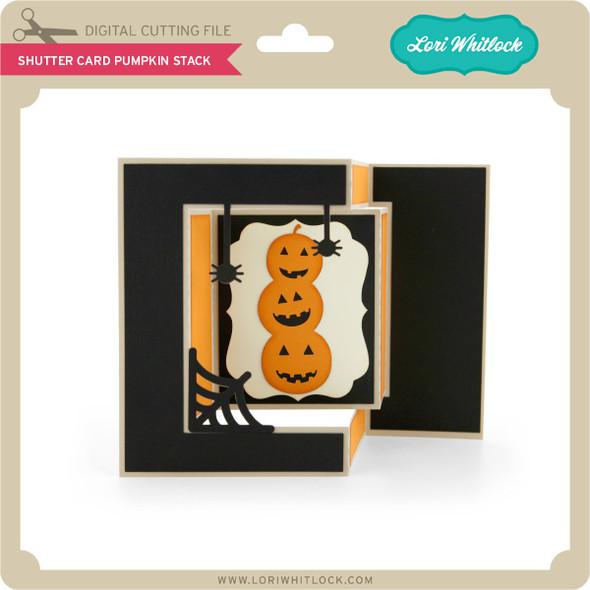 Shutter Card Pumpkin Stack