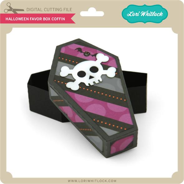 Halloween Favor Box Coffin