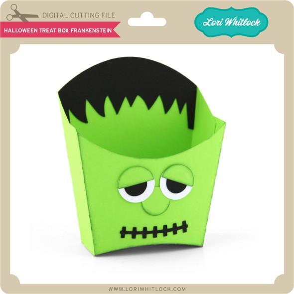 Halloween Treat Box Frankenstein