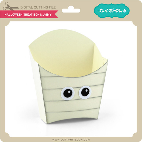 Halloween Treat Box Mummy