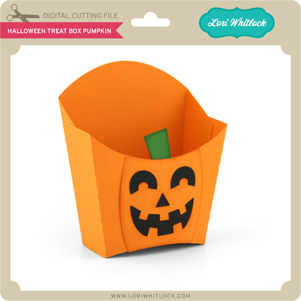Halloween Treat Box Pumpkin