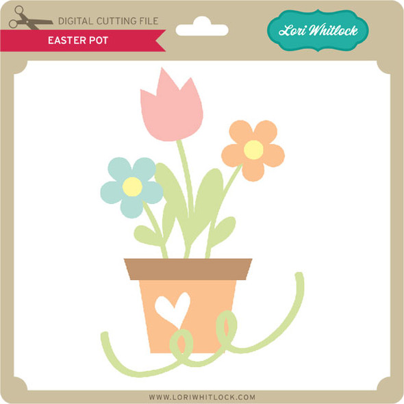 Easter Pot
