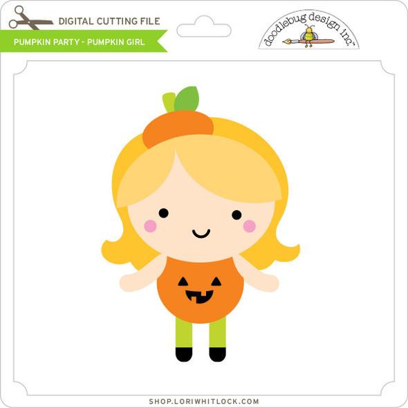 Pumpkin Party - Pumpkin Girl