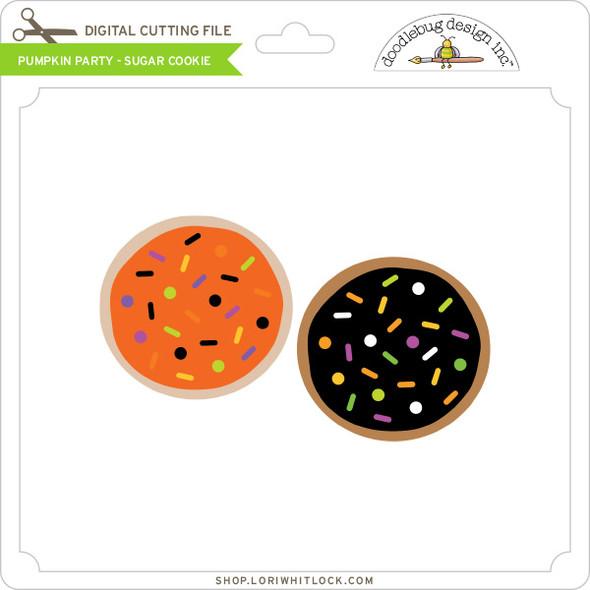 Pumpkin Party - Sugar Cookie