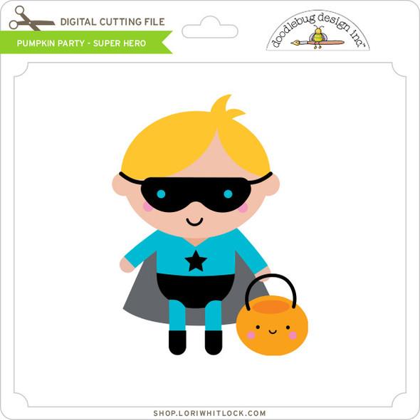 Pumpkin Party - Super Hero