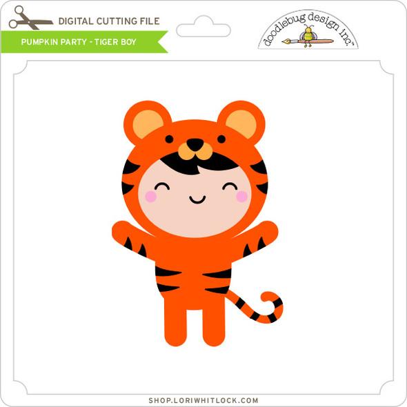 Pumpkin Party - Tiger Boy