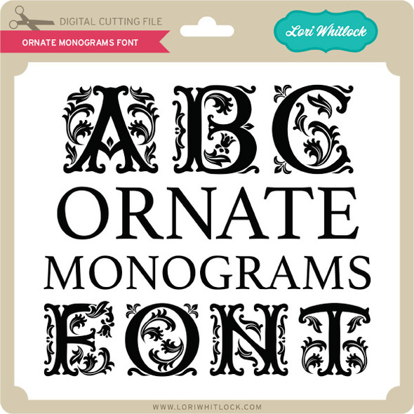 Ornate Monograms Font