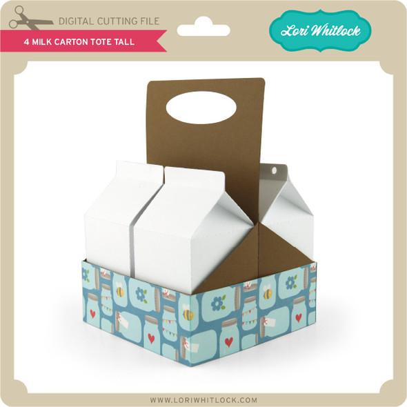 4 Milk Carton Tote Tall