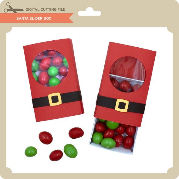 Santa Slider Box