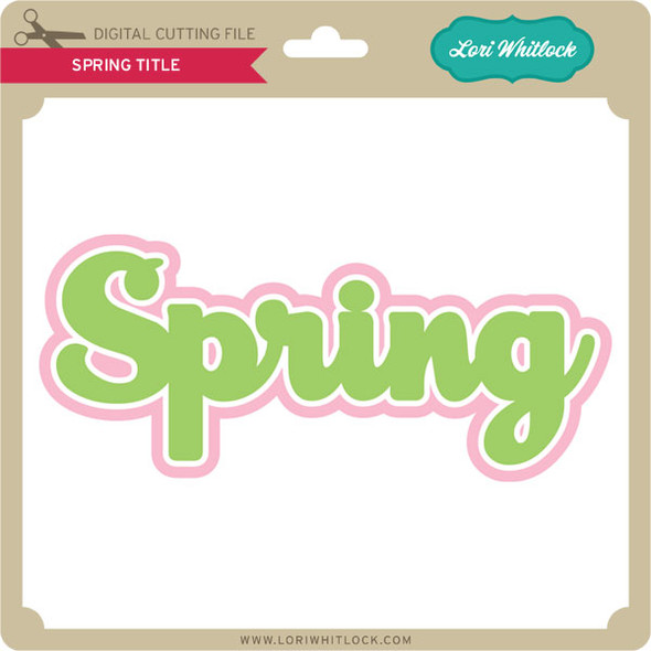 Spring Title