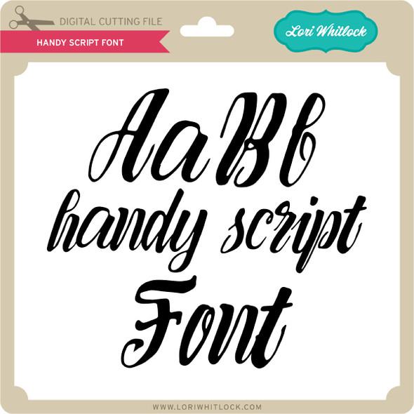 Handy Script Font