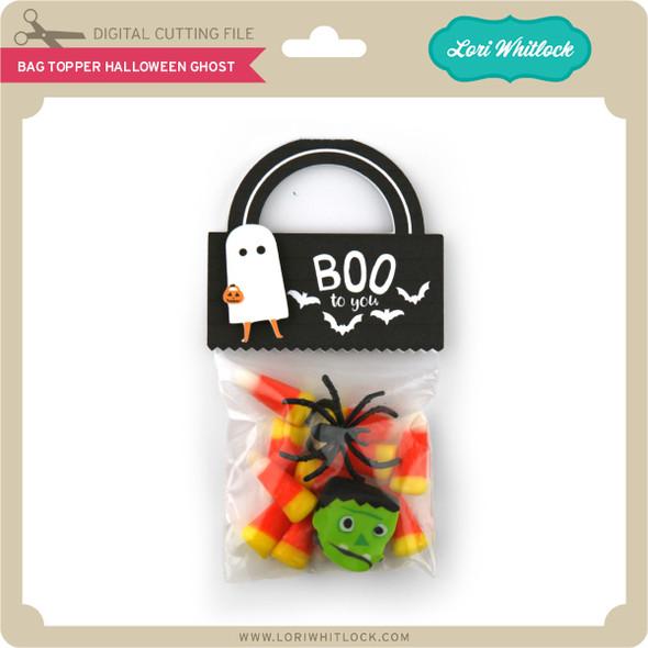 Bag Topper Halloween Ghost