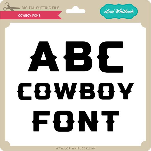 Cowboy Font 2