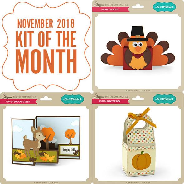 2018 November Kit of the Month