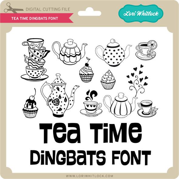 Tea Time Dingbats Font
