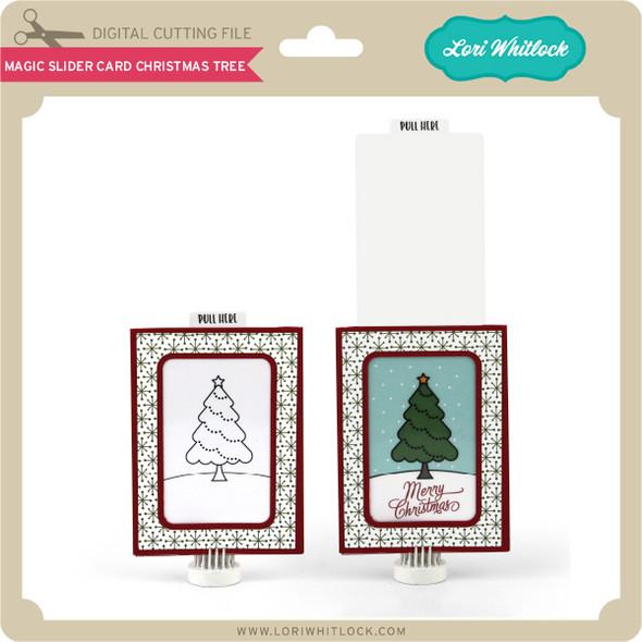 Magic Slider Card Christmas Tree