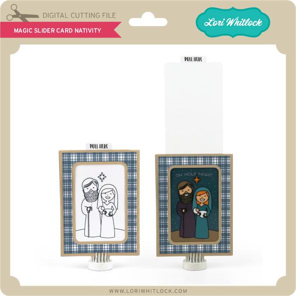 Magic Slider Card Nativity