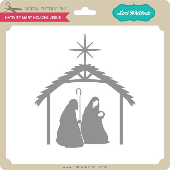 Nativity Mary Holding Jesus