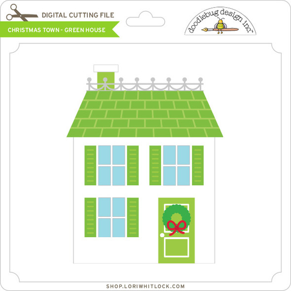 Christmas Town - Green House