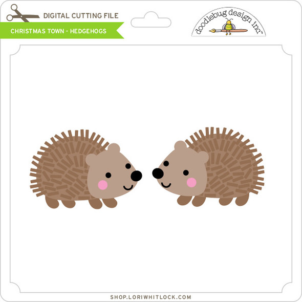 Christmas Town - Hedgehogs